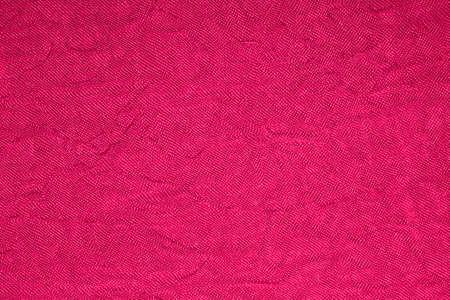 Photo pour Crimson bright woven fabric texture. - image libre de droit