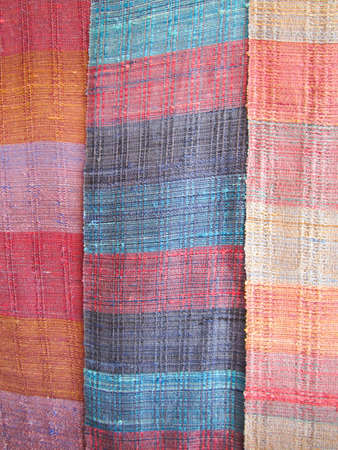 the color fabric from thailand