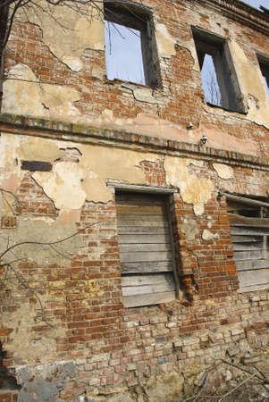 Debris of the arcaded dwelling in kaluga