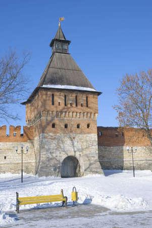 Turret Tula kremlin arcaded remarkable