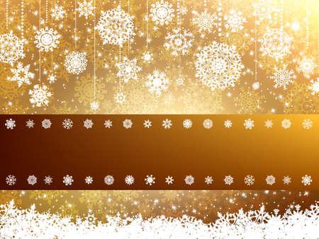 Elegant christmas background.
