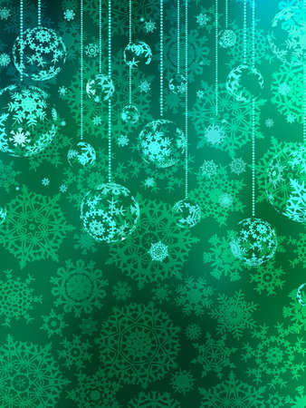 Abstraction blue Christmas background  EPS 8 vector file included