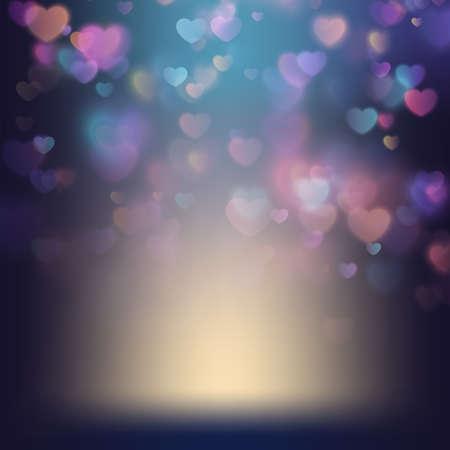 Ilustración de Valentine s day background. EPS 10 - Imagen libre de derechos