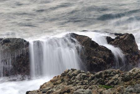 Water Splash at Big Sur