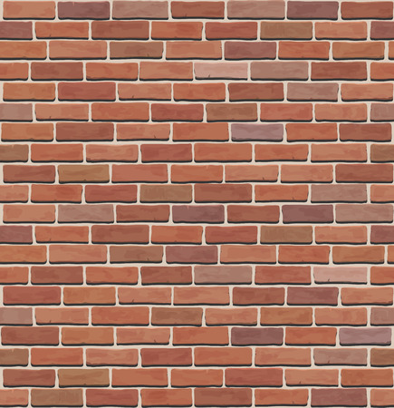 Illustration for seamless  brick wall texture - Royalty Free Image