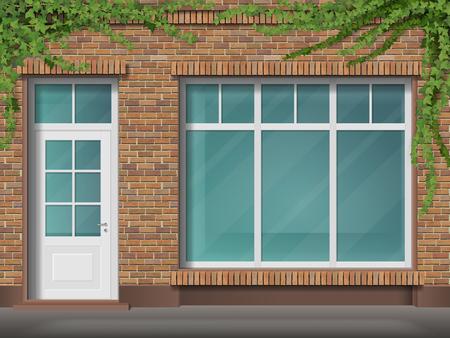 Illustration pour Store front icon. - image libre de droit