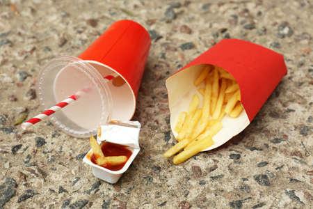 Fast food litter