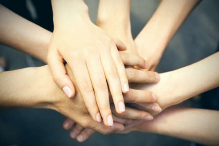 Photo for United hands close-up - Royalty Free Image