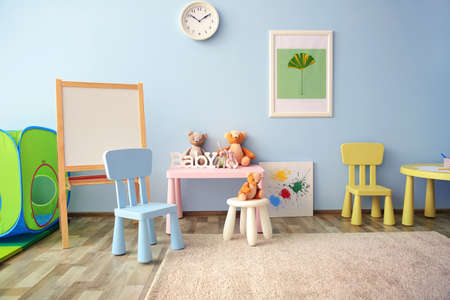 Photo pour Interior of playing room - image libre de droit
