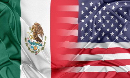 Relations between two countries. USA and Mexico