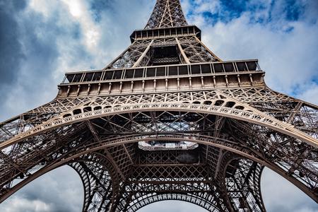 Photo pour Eiffel tower, Paris. - image libre de droit