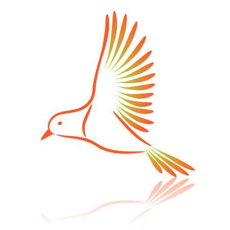 Canary. Vector illustration.