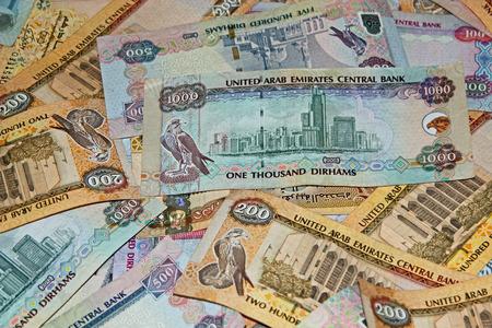 UAE money denoting wealth