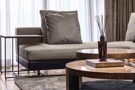 Photo pour Home. Space. Living room hall. Lifestyle Elegant luxury. - image libre de droit