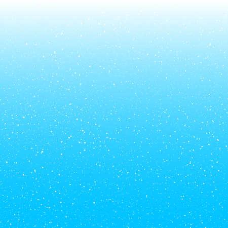 Illustration pour Delicate sky background with falling snowflakes - image libre de droit
