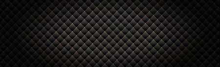 Ilustración de Panoramic texture of black and gray carbon fiber - illustration - Imagen libre de derechos