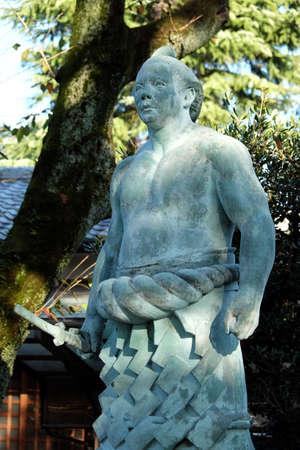 Statue of Sumotori