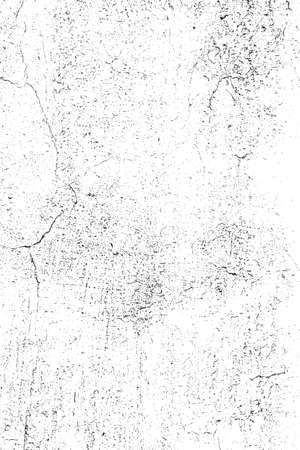 Grunge Overlay Texture - Cracked Plaster  vector