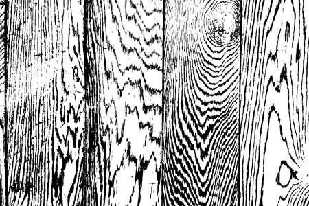 Illustration pour Distress Dry Wooden Overlay Texture For Your Design. EPS10 vector. - image libre de droit