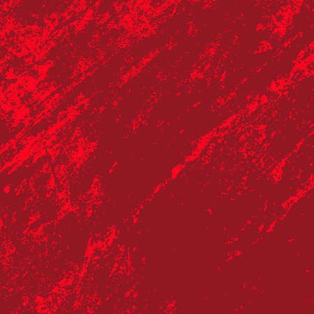 Illustration pour Empty Distressed Scarlet Background. Grunge Red Texture For your Design. Bloody artistic template. EPs10 vector - image libre de droit