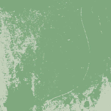 Illustration pour Distress Color Texture For Making Your Design Shabby And Aged. Dust And Grain Empty Green Grunge Background. EPS10 vector - image libre de droit