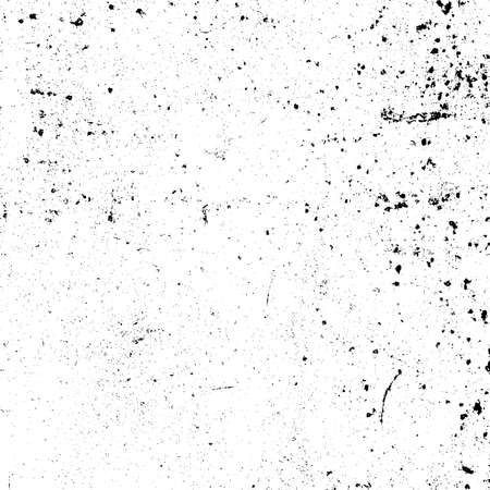 Illustration pour Distress urban used texture. Grunge rough dirty background. Brushed black paint cover. Overlay aged grainy messy template. Renovate wall scratched backdrop. Empty aging design element. EPS10 vector - image libre de droit