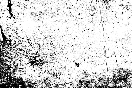 Illustration pour Overlay aged grainy messy template. Distress urban used texture. Grunge rough dirty background. Brushed black paint cover. Renovate wall banner grimy backdrop. Empty aging design element. EPS10 vector - image libre de droit