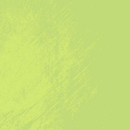 Illustration pour Distress green background. Grunge dirty texture. Damaged painted color painted wall. Creative peeled design template. EPS10 vector. - image libre de droit