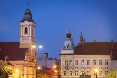 Lutheran Church in Cluj-Napoca. Cluj-Napoca, Cluj County, Romania.