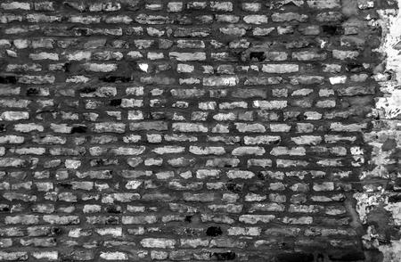 Large background of gray urban brick wall
