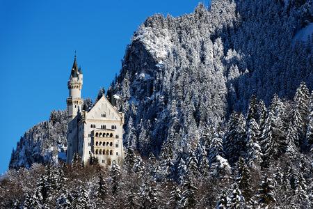 Winter in Bavaria - Neuschwanstein Castle.