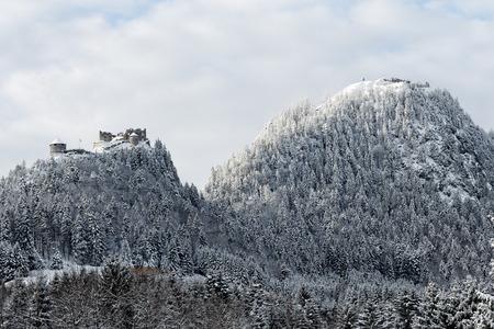 Mountain landscape of Austria.