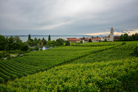 Lake Constance - Meersburg.