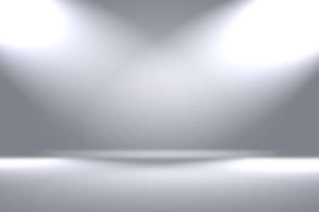 Photo pour Abstract luxury blur Grey color gradient, used as background studio wall for display your products - image libre de droit