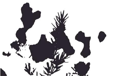 Illustration pour Vintage linen fabric background - image libre de droit