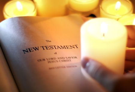 New Testament by Candlelight
