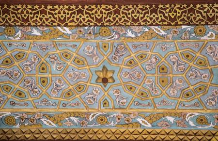 Photo pour Floral art pattern example of the Ottoman time - image libre de droit