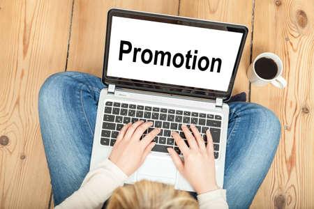 Photo pour Promotion - image libre de droit