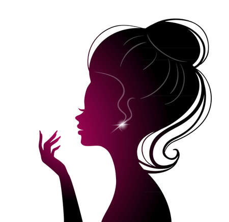 illustration of Beauty woman