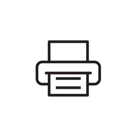 Ilustración de Printer icon Vector illustration - Imagen libre de derechos