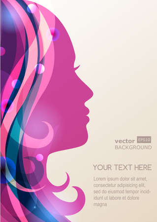 Vector Of Beautiful Girl Silhouette With Id 36024696 Royalty Free Image Stocklib