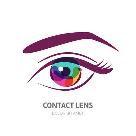 Ophthalmology concepts  Eye and oculist, correction eyesight