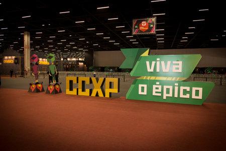 SAO PAULO - DECEMBER 1, 2016: Sao Paulo Comic Con Experience, the annual pop culture and fandom convention in Brazil.