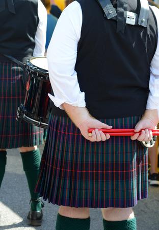 Close-up of Scotts-Irish festival participants.