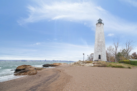 Five Mile Point Lighthouse in New Haven CT