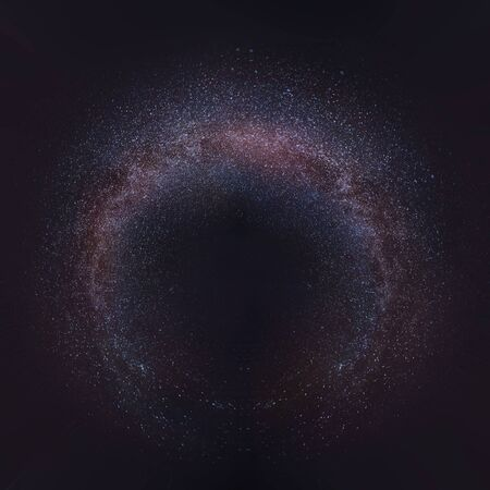 Milky way 360 degree background