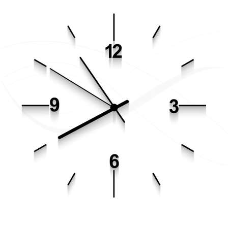 Watch stopwatch graphic element white background