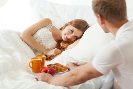 Wake up with breakfast in bed for truelove