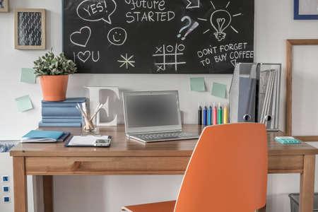 Creative study space in modern teen room