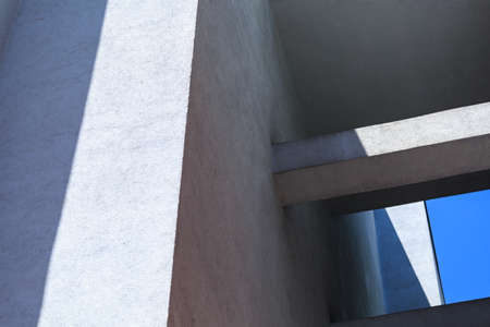Picture of architectural detail of contemporary city building